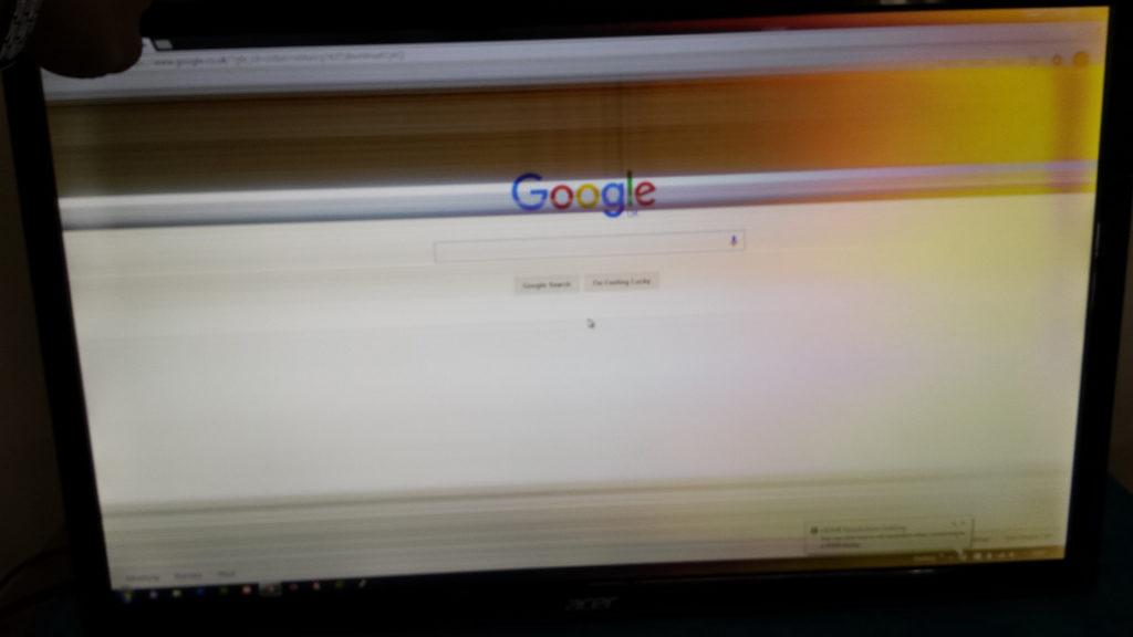 Acer S271HL Monitor Flickering Screen Repair