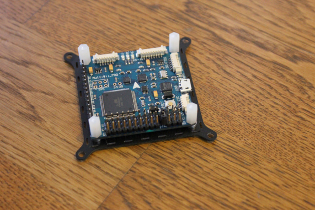 Flight controller with Gyrometer, Accelerometer, Barometer and compass