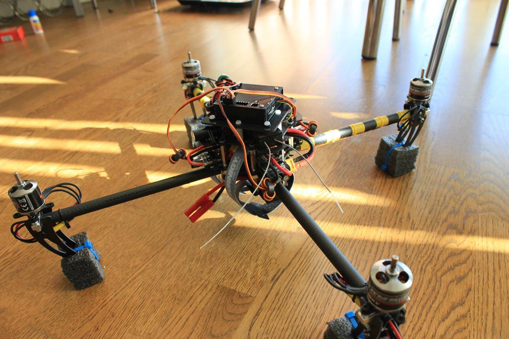 First assembled test version