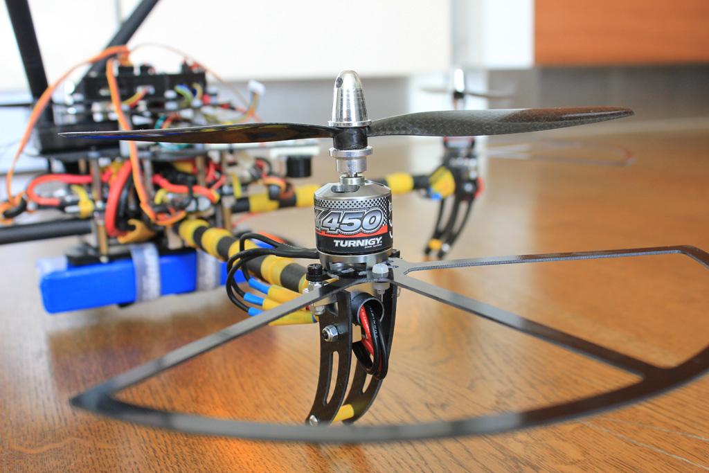 New carbon fiber propeller guards