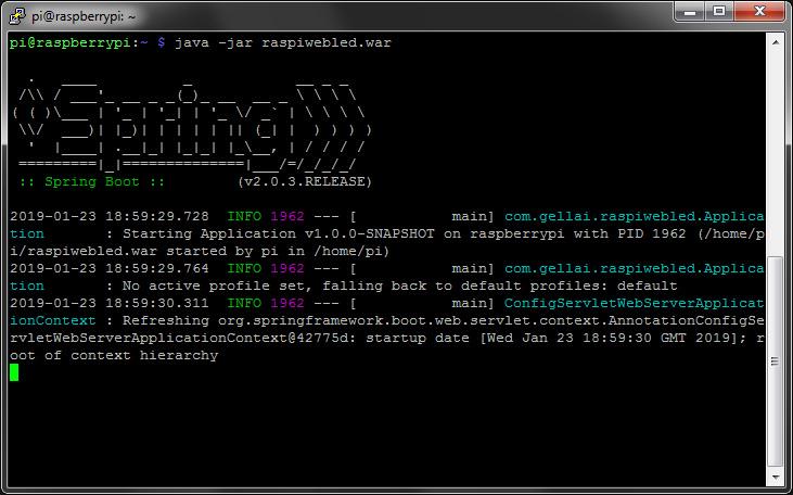Java Spring Boot Loading Screen