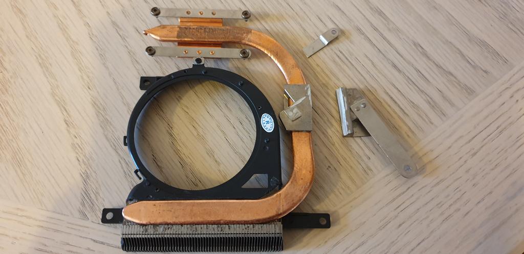 Cut GPU Heat Sink Plate