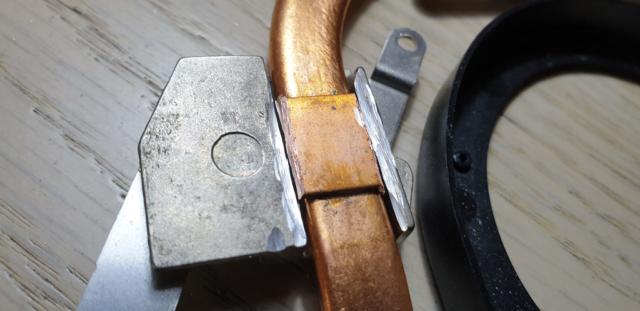 Cutting The Replacement Heatsink