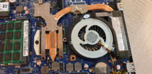 Replacement Intel Core i7-2860QM CPU And The Modified Heatsink