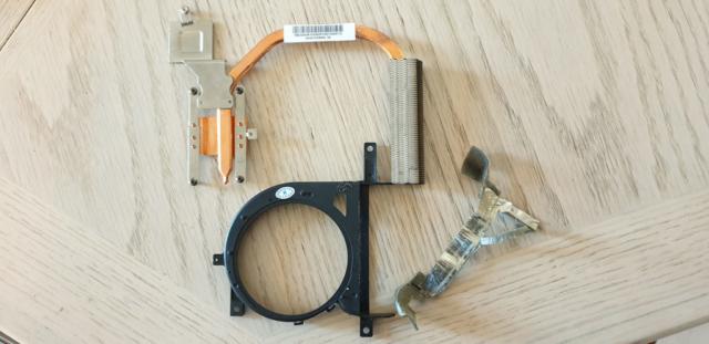 Tape Removed From Original Heatsink