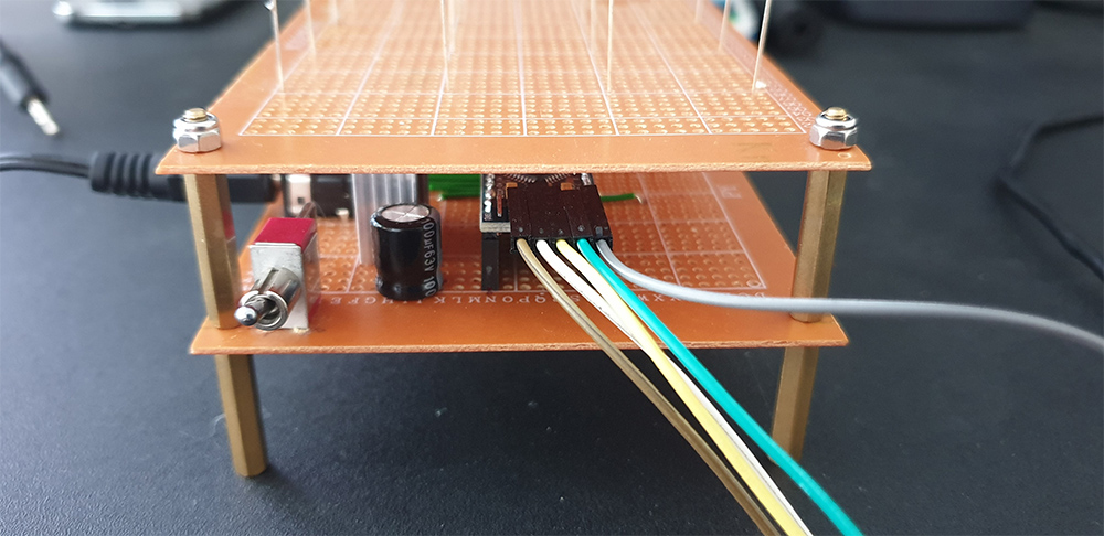 Arduino Pro Mini Connected To The Programmer