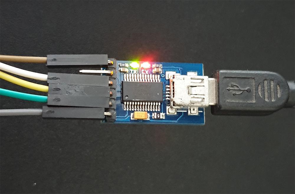 USB FTDI To TTL Serial Programmer