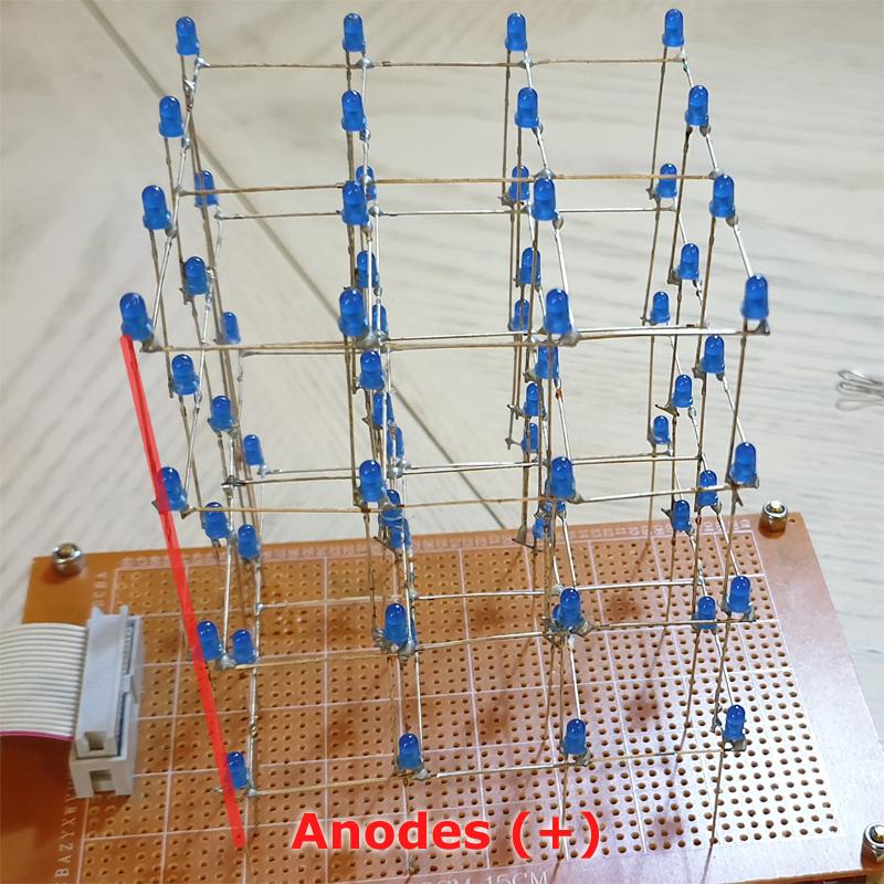 LED Cube Anode Column