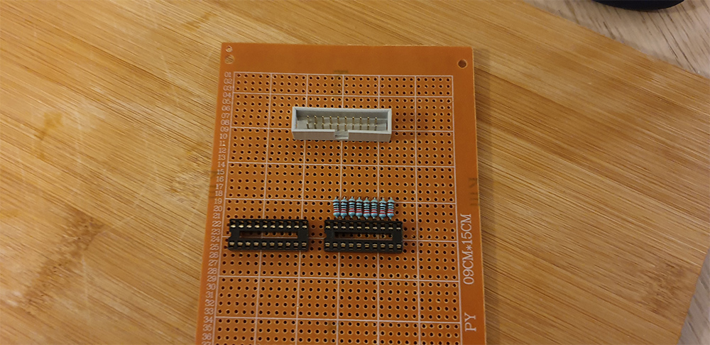 Placing The Components On The Prototype Board