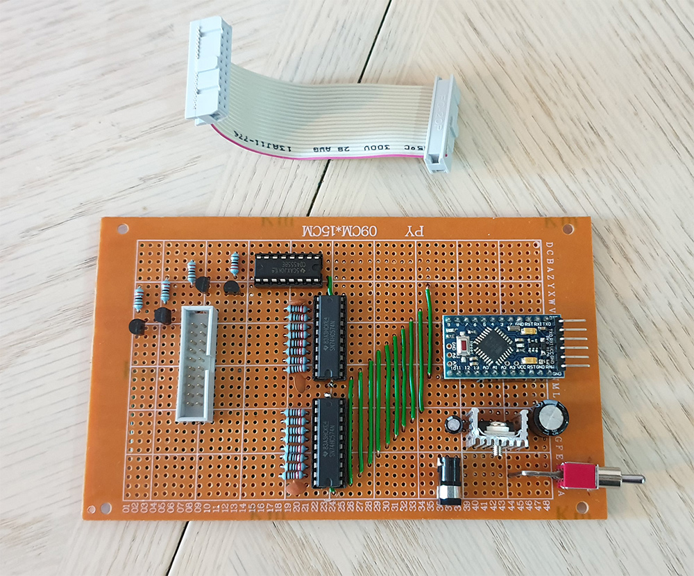 Control Board With Installed ICs
