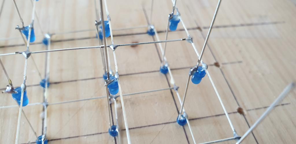 Soldering LED Anodes Together
